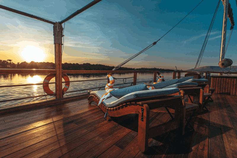 Eine Nilkreuzfahrt der besonderen Art